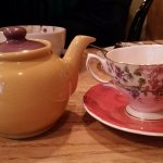 Tea as it should be. In a teapot