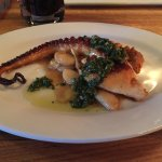 Charred Octopus - small plate -