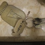 Key and fob for room