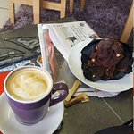 Lovely coffee and muffin