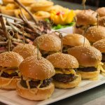 Mini Cheese-Burgers & Lamb Chops - Marco Polo's Restaurant, Bar & Lounge