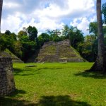 Another plaza at Caracol. Our guide, Bruce, camped out here with people on Dec. 21, 2012.
