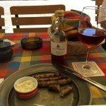 Nürnberger platter with horseradish
