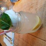 Homemade Lemonade with Lemon Sorbet