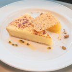 glazed double lemon tart