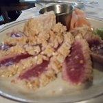 Seared tuna - superb!