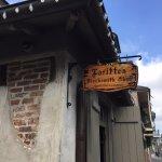 Lafitte's Blacksmith Shop Sign