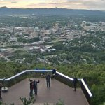 Great view of Roanoke. Live cam was fun.
