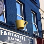 Exterior Fantastic Flavours with Blue Dog