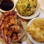Key West Chicken & Shrimp w/broccoli casserole and the mac N cheese