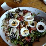 good cobb salad. very fresh and tasty