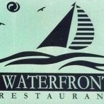 Waterfront Sign on Building