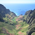 Kauai from the helocopter