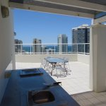 Penthouse BBQ + Rooftop Dining Area