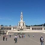 Main apparition site in Fatima