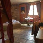 Quelques photos de notre magnifique chambre à l'hôtel Colosseo!