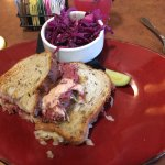 Rueben w/ Purple Apple Olliberry Slaw