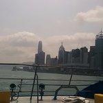 View just before reaching Hong Kong (back from Macau)