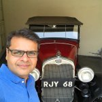 Visited City Palace Museum, Boat ride on Lake Pichola and Vintage Car museum in Udaipur. It was