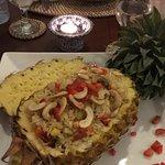 My pineapple rice!! Amazing food