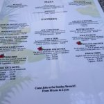 Menu options, Manyana Restaurant 1160 King George Blvd | At the Pacific Inn, Surrey, British Col