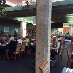 Interior view Manyana Restaurant 1160 King George Blvd | At the Pacific Inn, Surrey, British Col