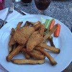 Kids chicken finger, Manyana Restaurant 1160 King George Blvd | At the Pacific Inn, Surrey, Brit