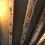 original 17th century ceiling