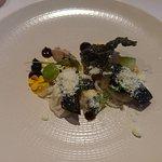 Mackerel dish - lovely crisp skin but nothing special