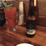 Beer, Bloody Mary and bold food