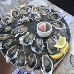 Hama Hama, Chef Creek and Graham Point oysters!  Delicious!!