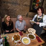 Lord Provost Sadie Docherty serves up her favourite curry at KoolBa
