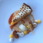 Lemon Pie - zerlegt in seine Elemente, Restaurant VUE
