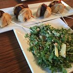 Pork belly sliders with the Spanish salad....after a day of hiking? You can never go wrong!