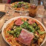 Les pizzas que nous avons commandé