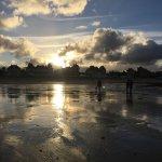 Coucher de soleil sur la Côte de Nacre