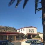 Views of Windhoek from Thule hotel