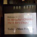 Foto de St. Malachy's - The Actors' Chapel