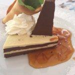 Chocolate lasagne desert!