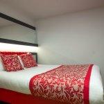 A double room at the Haymarket Hub Hotel, Edinburgh