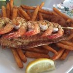 Shrimp and Sweet Potato Fries