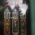 Stained Glass at the Busch Mausoleum