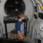 Inside deep dive vessol