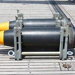 Shells from Battleship guns