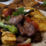 Shah Platter; Mixed grill for two