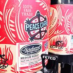 we're so proud to serve peace coffee