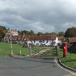East Dean village green & the Tiger Inn © Robert Bovington