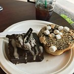 The Oreo Brownie and Smores Donut!?! 2 Thumbs wayyy up!!