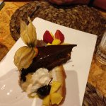 Chocolate dessert...as good as it looks.
