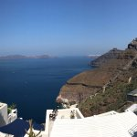 View from Porto Fira reception